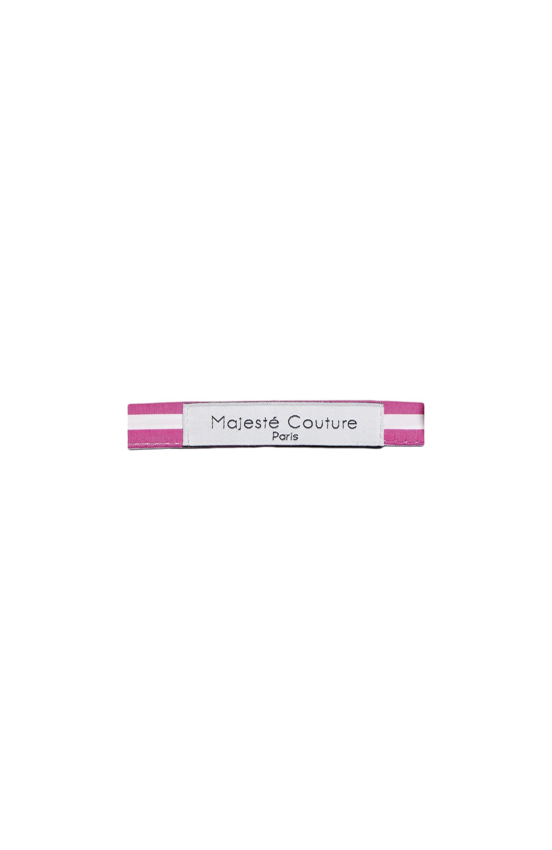 Majesté Couture Paris: Fuchsia bow tie | Accessories -  Hiphunters Shop