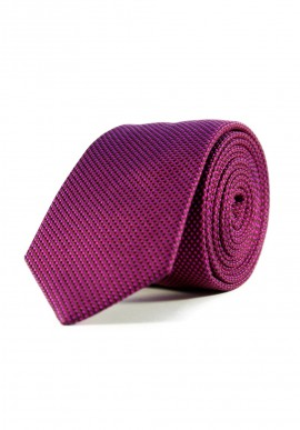 REGULAR FUCHSIA/CHOCOLATE TIE