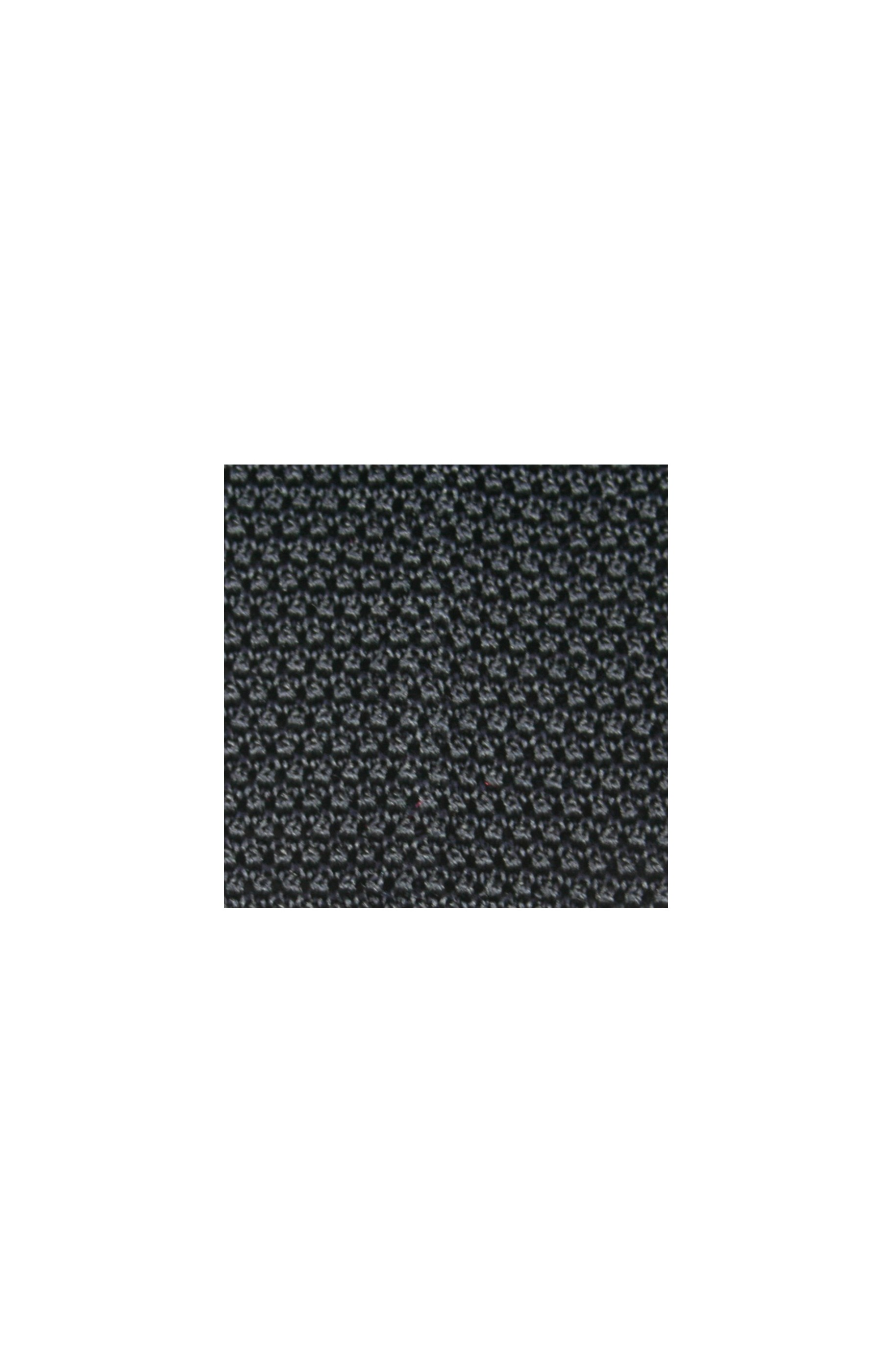 Majesté Couture Paris: Black knitted silk tie | Accessories -  Hiphunters Shop