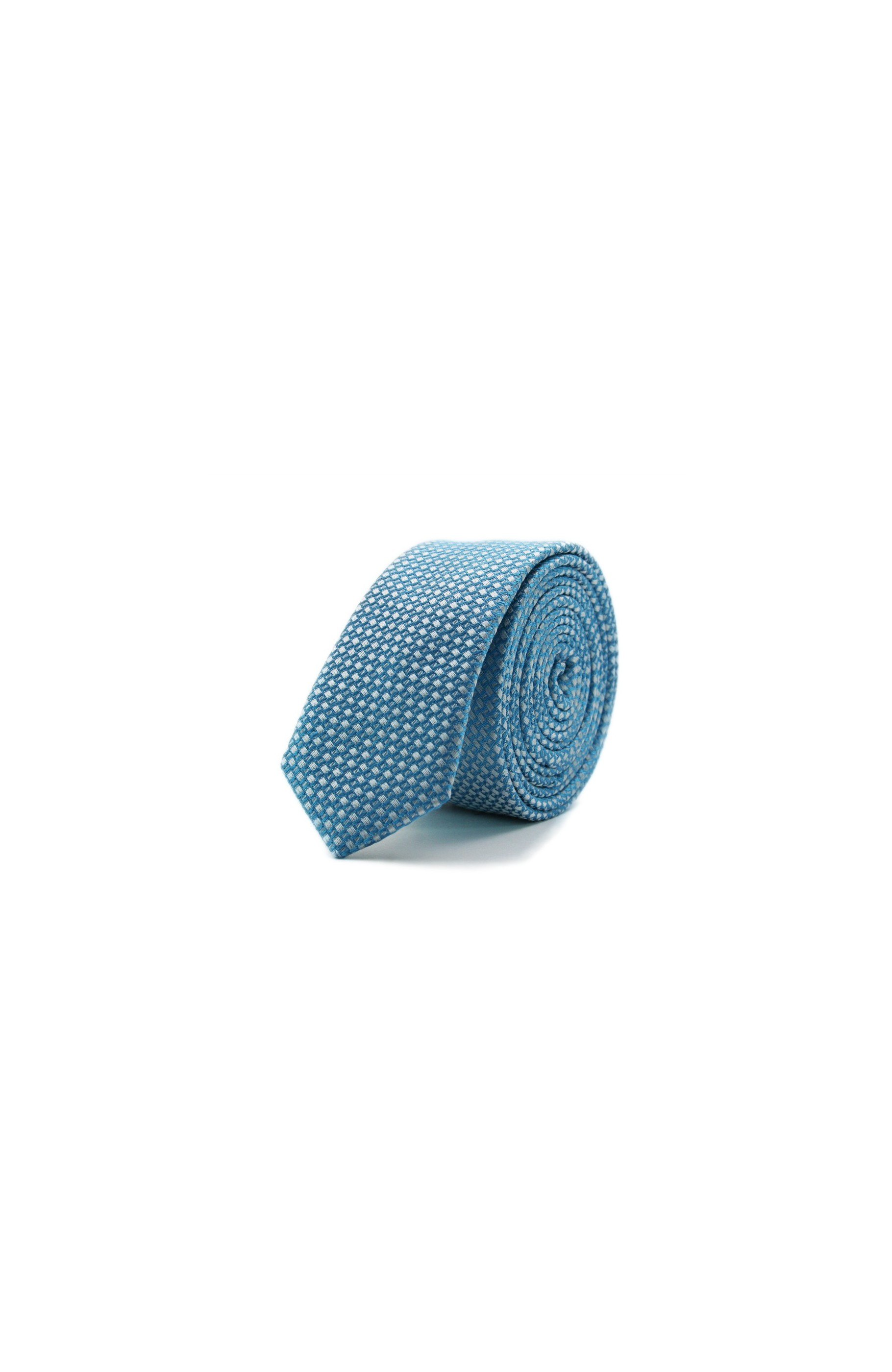 Majesté Couture Paris: Slim deepskyblue tie | Accessories -  Hiphunters Shop