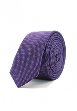 SLIM PURPLE TIE