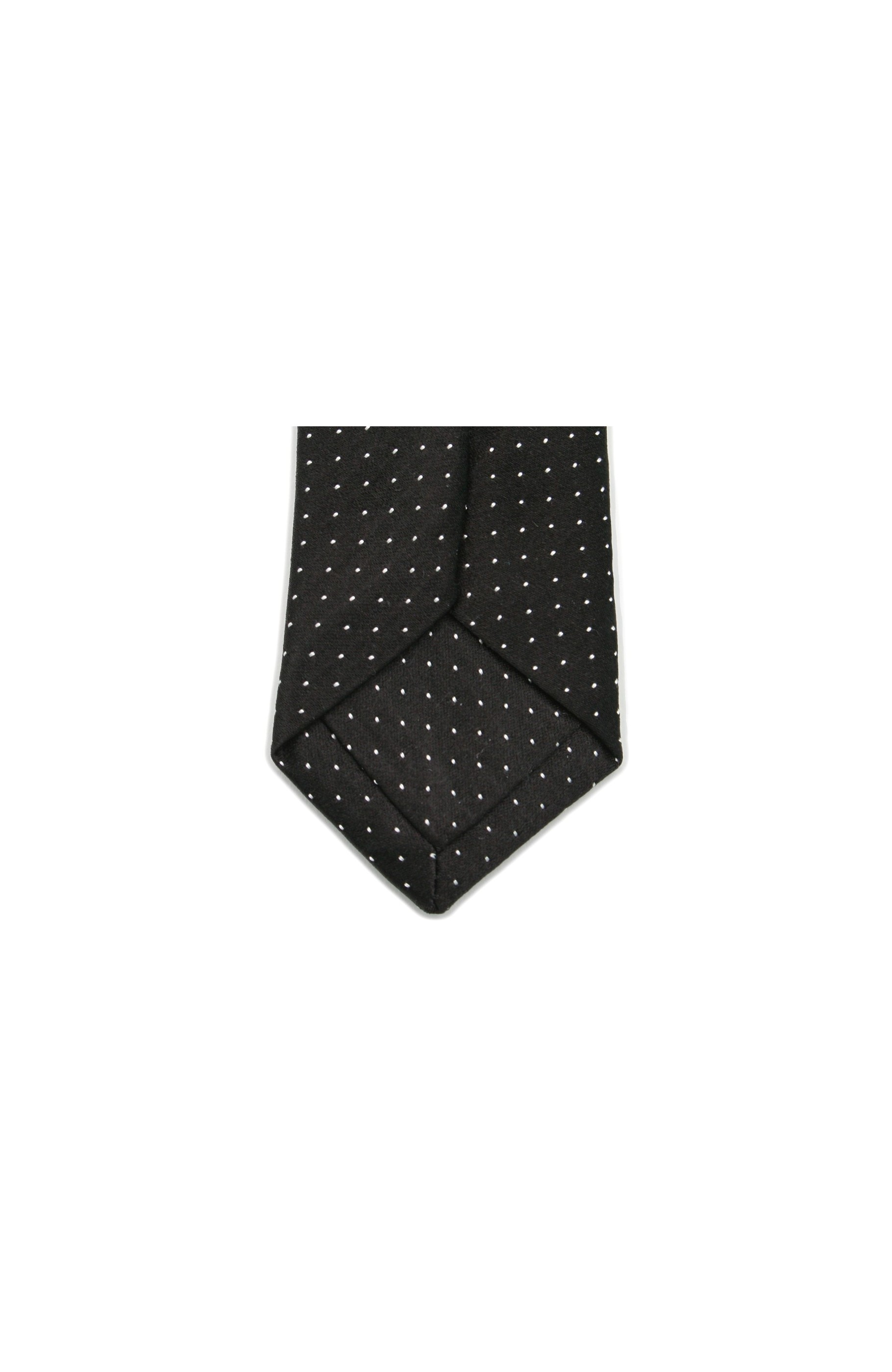 Majesté Couture Paris: Slim black tie | Accessories -  Hiphunters Shop