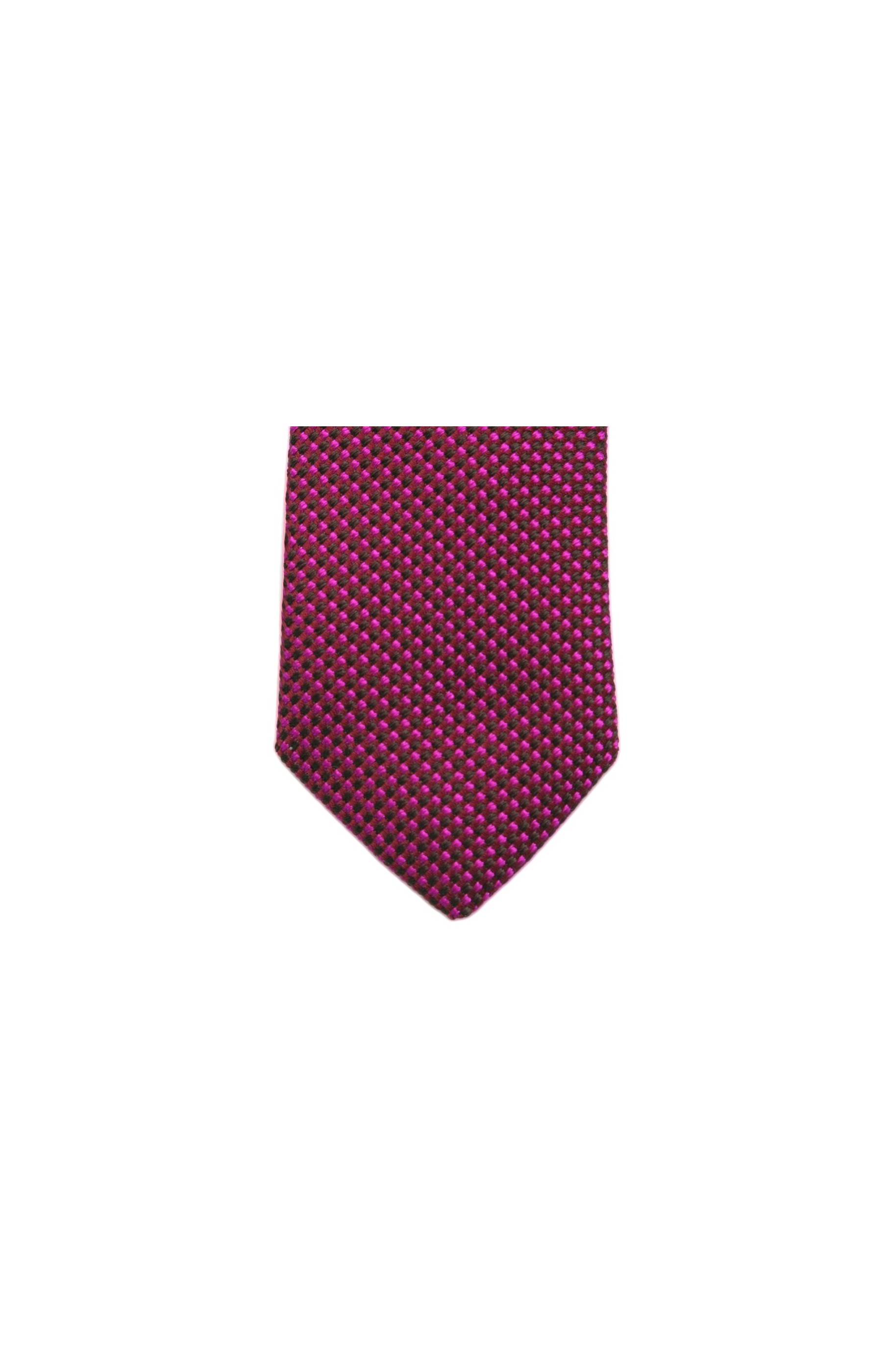 Majesté Couture Paris: Fuchsia woven tie on chocolate shades | Accessories -  Hiphunters Shop