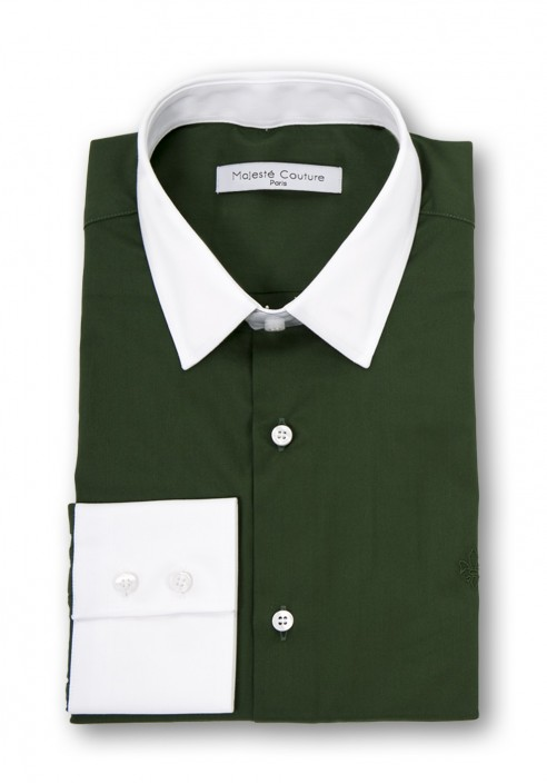 MILITARY GREEN SHIRT PARIGOTE