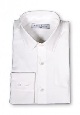 WHITE PARIGOTE SHIRT