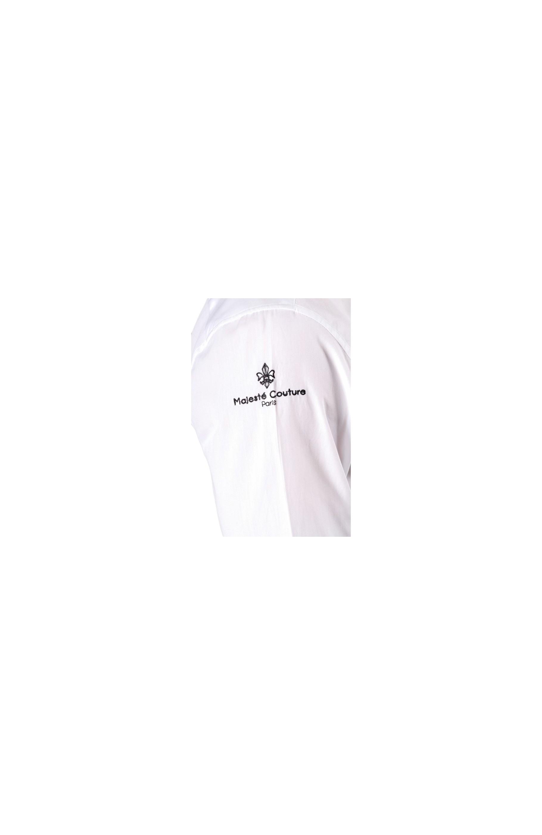 Majesté Couture Paris: WHITE MAJESTÉ CLUB SHIRT   Clothing,Clothing > Shirts -  Hiphunters Shop