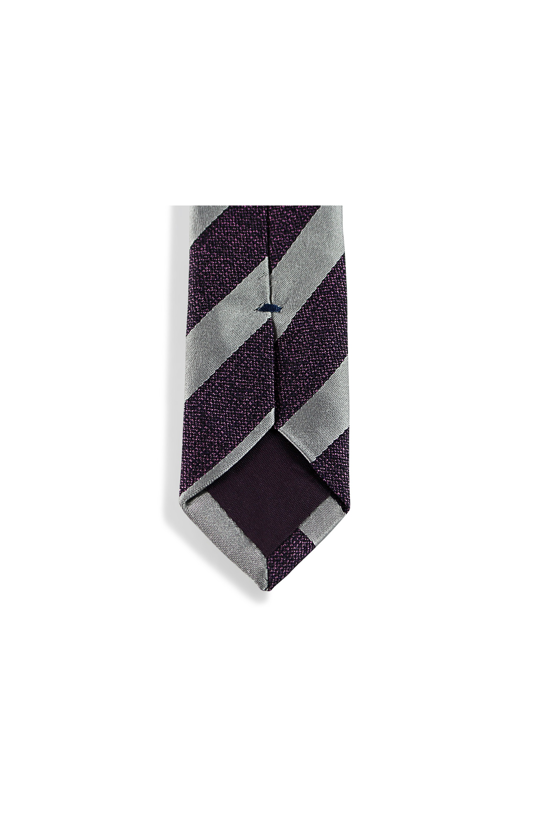 Majesté Couture Paris: Grey slim tie | Accessories -  Hiphunters Shop