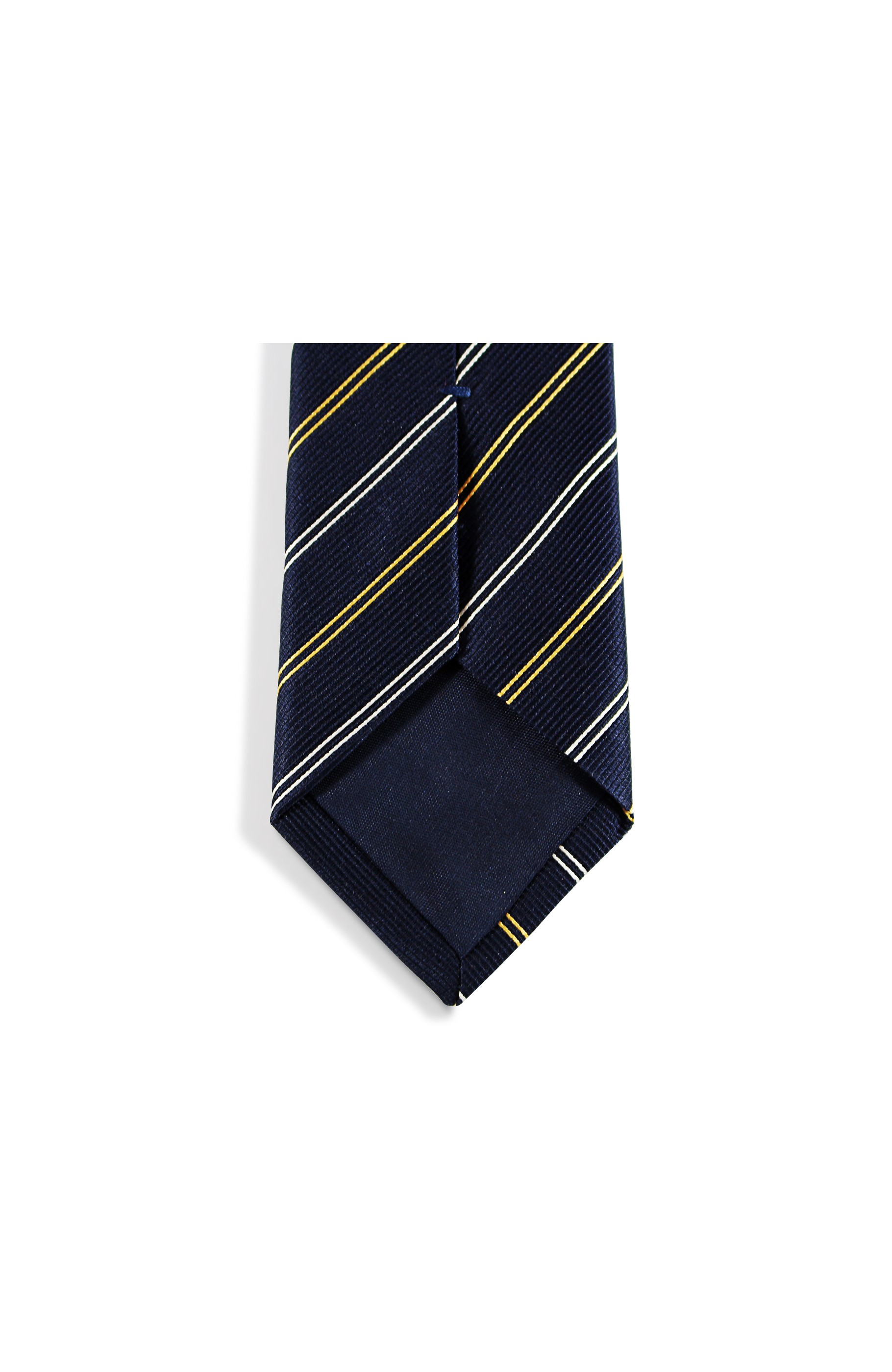Majesté Couture Paris: Oxford navy tie | Accessories -  Hiphunters Shop
