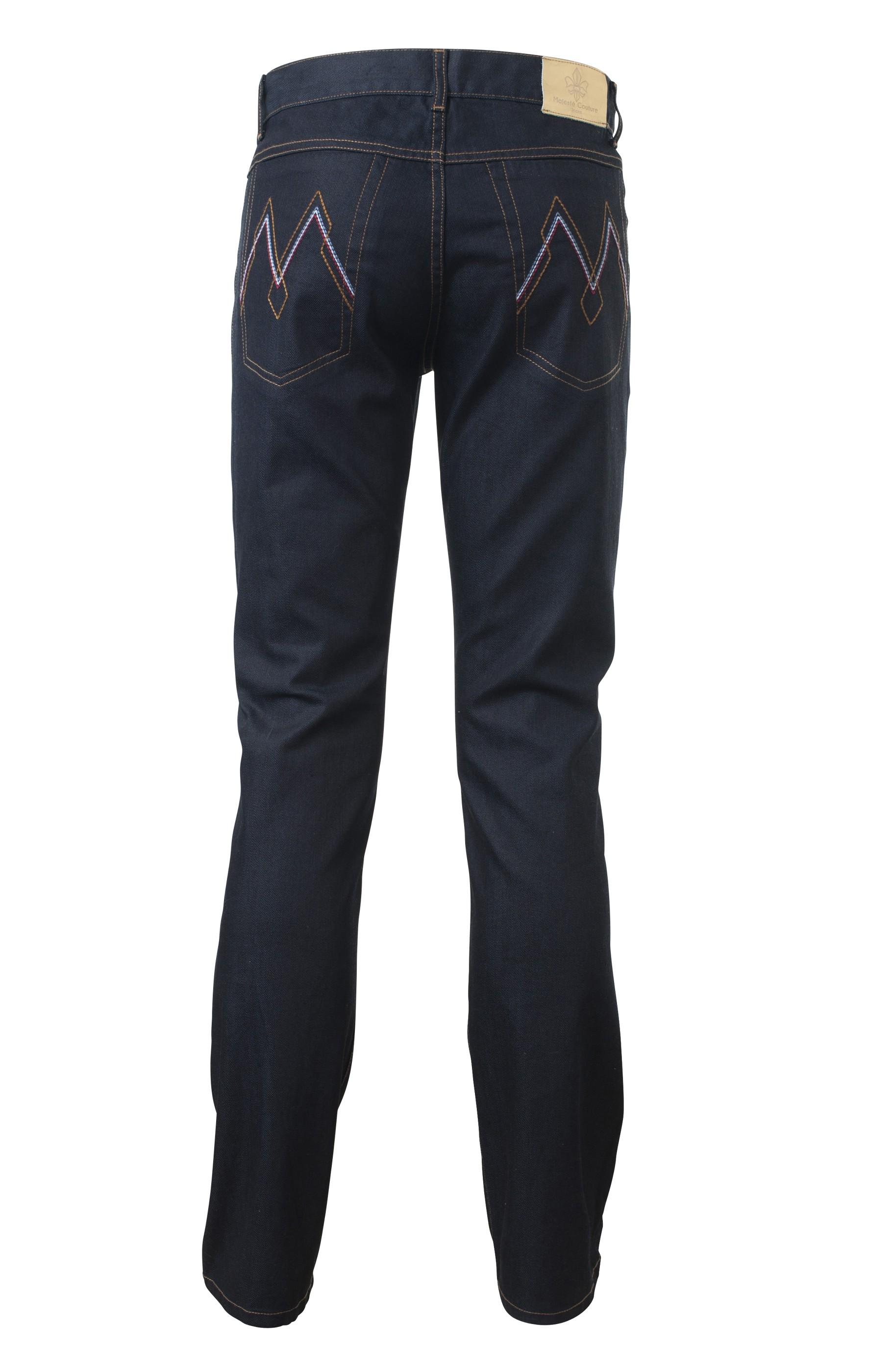 Majesté Couture Paris: MJ-536 SAPPHIRE JEANS | Clothing,Clothing > Jeans -  Hiphunters Shop
