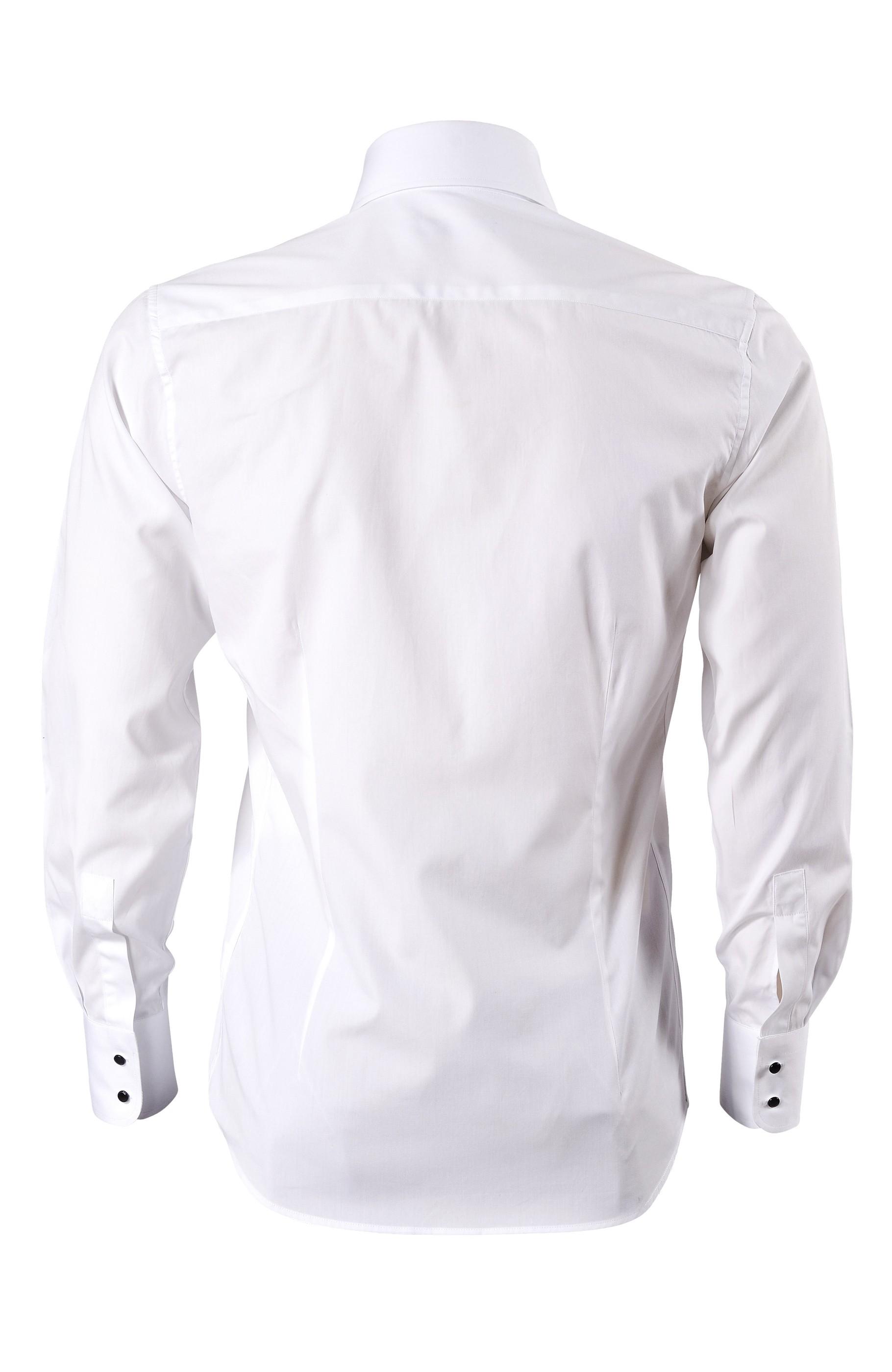 Majesté Couture Paris: WHITE ÉLITE SHIRT | Clothing,Clothing > Shirts -  Hiphunters Shop
