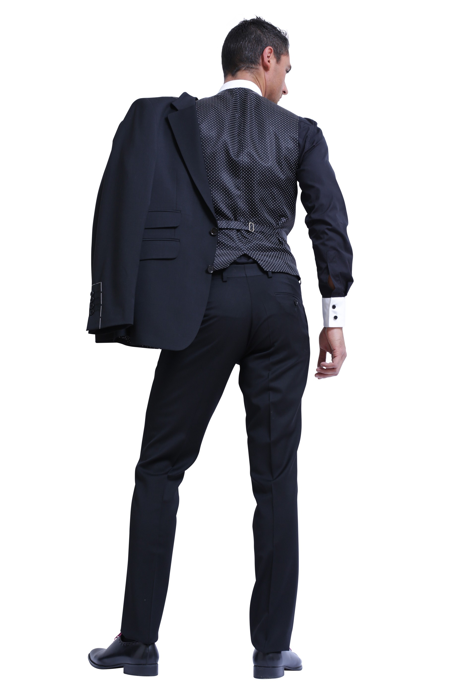 Majesté Couture Paris: VENDÔME BLACK SUIT | Clothing,Clothing > Suits -  Hiphunters Shop