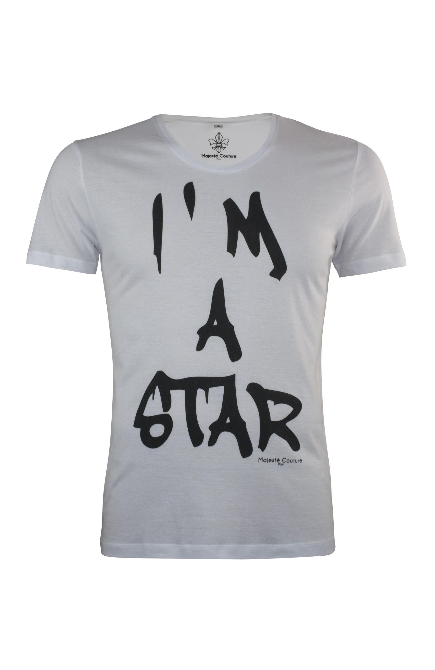 Im black t shirt - T Shirt I M A