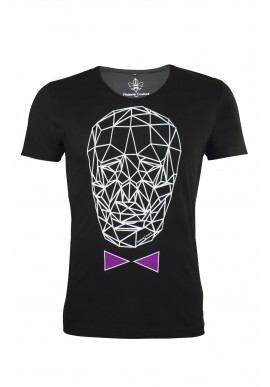 T-SHIRT GRAPHIC_TDM NOIR & LILAS