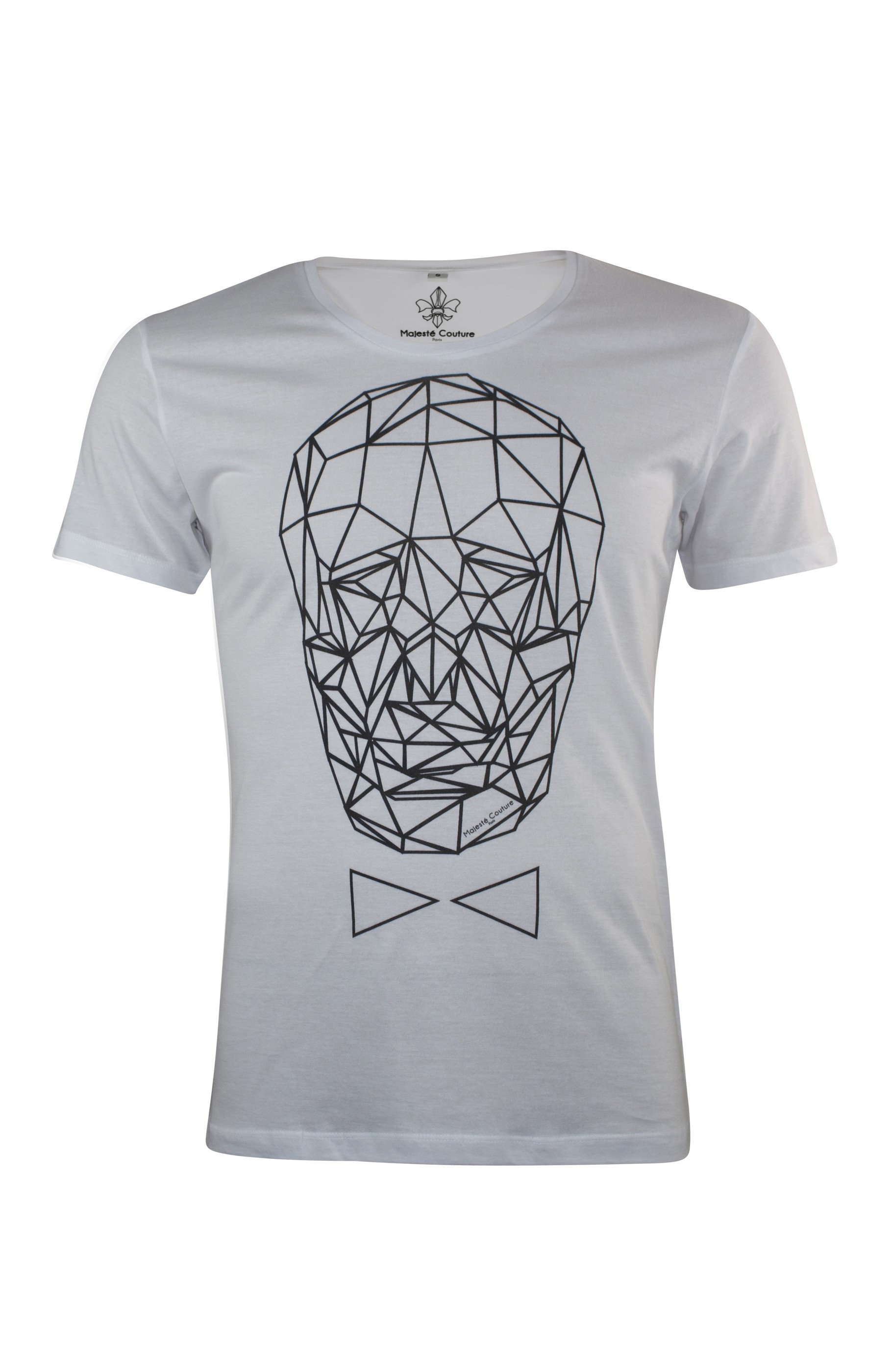 Majesté Couture Paris: WHITE GRAPHIC_TDM T-SHIRT   Clothing,Clothing > T-Shirts -  Hiphunters Shop