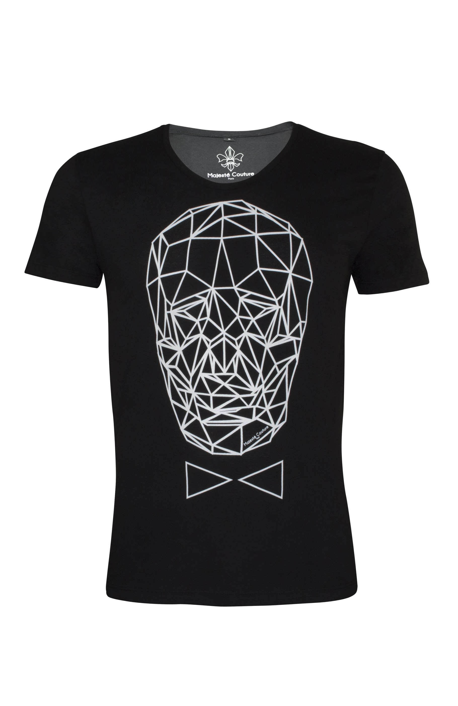 Majesté Couture Paris: BLACK GRAPHIC_TDM T-SHIRT - Hiphunters Shop