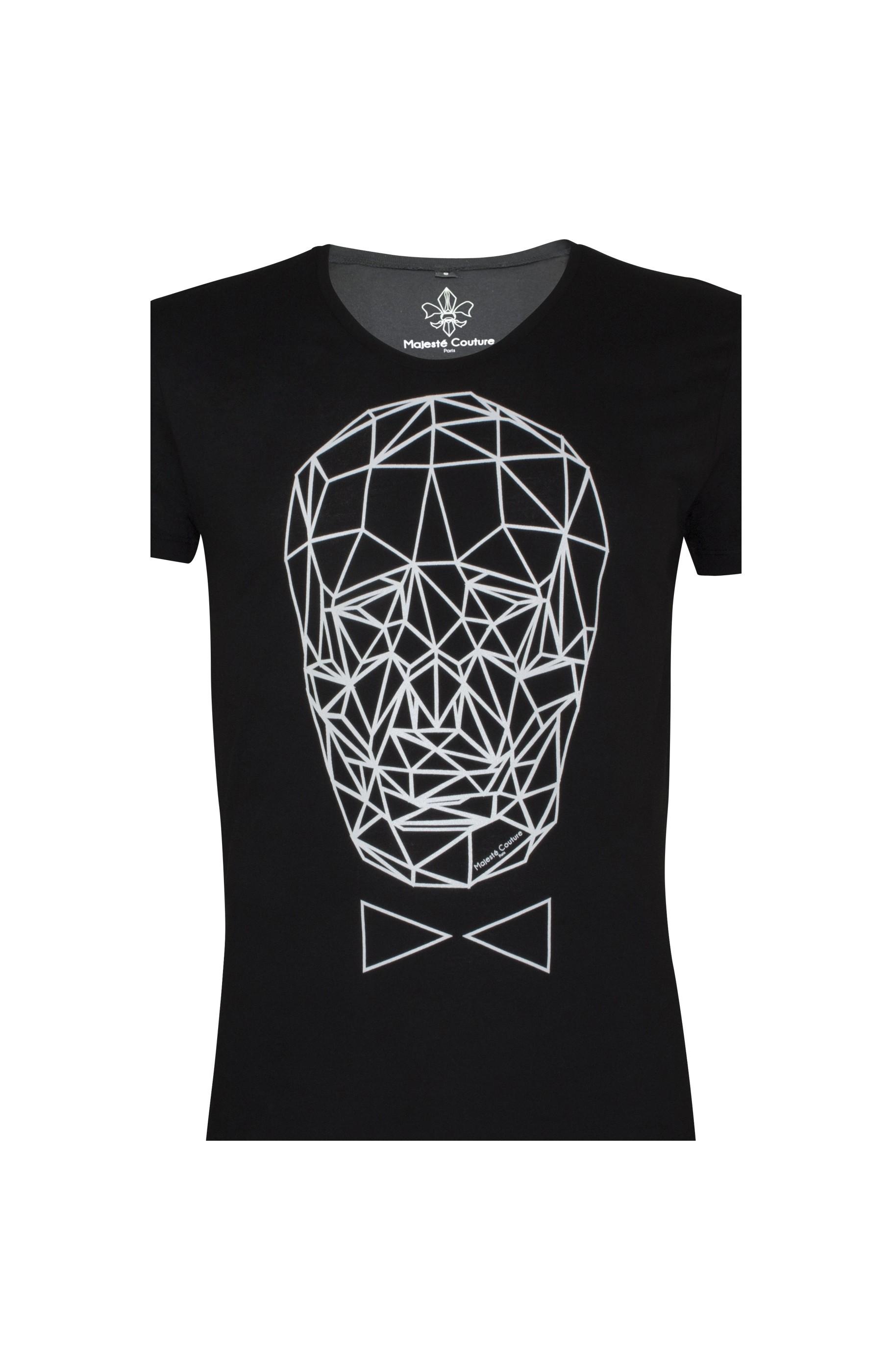 Majesté Couture Paris: BLACK GRAPHIC_TDM T-SHIRT | Clothing,Clothing > T-Shirts -  Hiphunters Shop